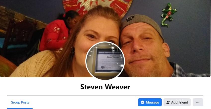Steven Weaver | Roofing By Weaver | Construction by Weaver